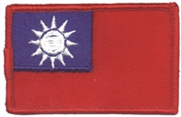 6774 - TAIWAN flag uniform or souvenir embroidered patch
