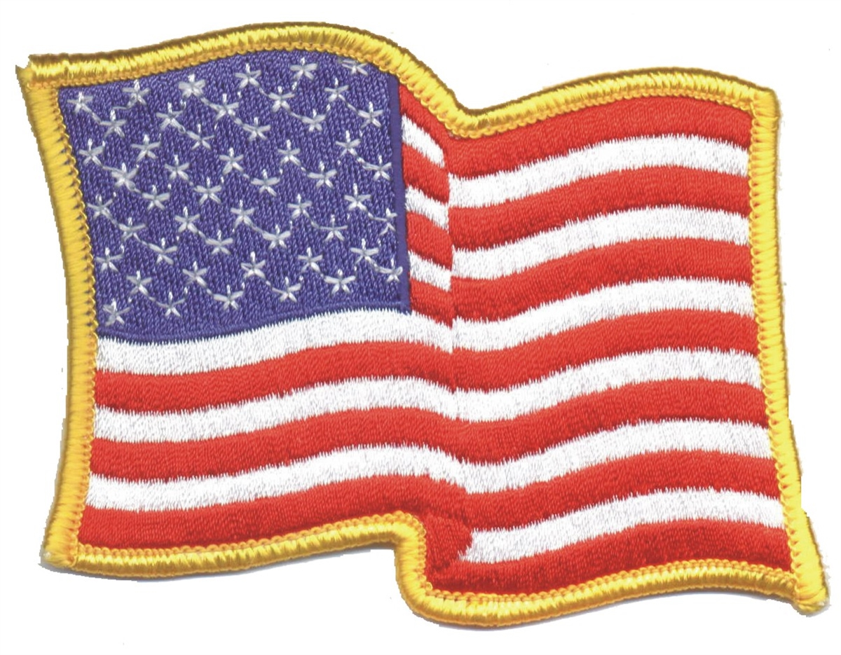 FLAG PATCH PATCHES VERMONT IRON ON EMBROIDERED UNITED STATES USA STATE