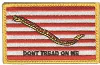 6843 - First Navy Jack flag souvenir or uniform embroidered patch