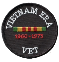 VIETNAM ERA VET embroidered patch