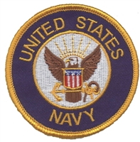 6867 - NAVY souvenir embroidered patch
