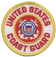 6868 - COAST GUARD souvenir embroidered patch