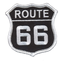 6876-01 - ROUTE 66 souvenir embroidered patch