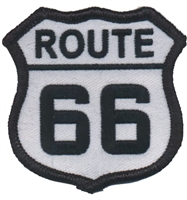 6876-39 - ROUTE 66 souvenir embroidered patch