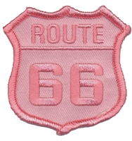 6876-56 - ROUTE 66 souvenir embroidered patch
