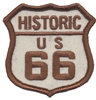 6878 - HISTORIC US 66 souvenir embroidered patch