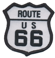 ROUTE US 66 souvenir embroidered patch