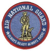 6887 - AIR NATIONAL GUARD souvenir embroidered patch