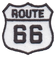 6888 - ROUTE 66 souvenir embroidered patch