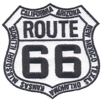 ROUTE 66 with state names souvenir embroidered patch