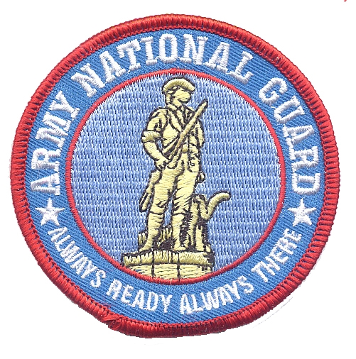 National Guard Iron-on Embroidered Patch