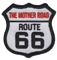 THE MOTHER ROAD ROUTE 66 souvenir embroidered patch