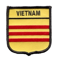 6976 - VIETNAM (South) medium flag shield souvenir embroidered patch