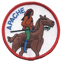 7201 - APACHE souvenir embroidered patch