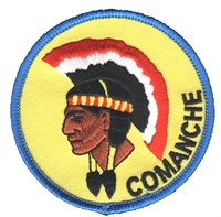 7204 - COMANCHE souvenir embroidered patch
