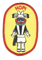 HOPI souvenir embroidered patch