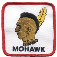 7207 - MOHAWK souvenir embroidered patch