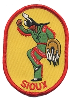 7209 - SIOUX souvenir embroidered patch