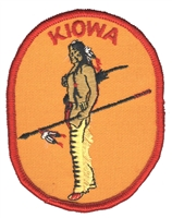 7213 - KIOWA souvenir embroidered patch