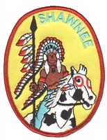 7214 - SHAWNEE souvenir embroidered patch