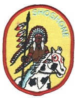 7222 - SHOSHONE souvenir embroidered patch