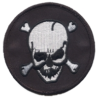 7419-01 - skull souvenir embroidered patch