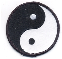 7425 - yin yang souvenir embroidered patch