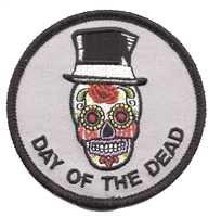 7426 - DAY OF THE DEAD novelty or souvenir embroidered patch