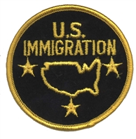 7431 - U.S. IMMIGRATION novelty or souvenir embroidered patch