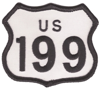 8199 - US 199 souvenir embroidered patch