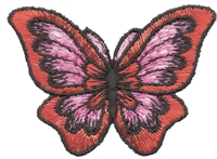 butterfly aetz embroidered applique patch