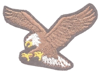 8601-01/2 - small eagle embroidered patch