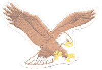 8601-39/R - eagle embroidered patch