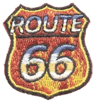 9596/1 - ROUTE 66 fire souvenir embroidered patch