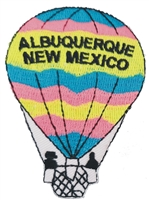ALBUQUERQUE-15 - ALBUQUERQUE hot air balloon souvenir embroidered patch
