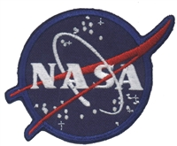 NASA-001 - Nasa vector souvenir embroidered patch