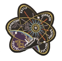 Nasa Endeavor STS-134-AMS souvenir embroidered patch