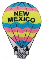 NM-15 - NEW MEXICO hot air balloon souvenir embroidered patch