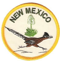 NEW MEXICO roadrunner souvenir embroidered patch