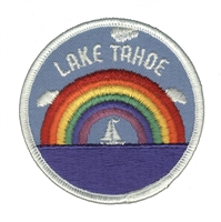 LAKE TAHOE souvenir embroidered patch
