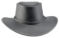 hBRAVO - Bravo leather hat by Head 'n Home Hats