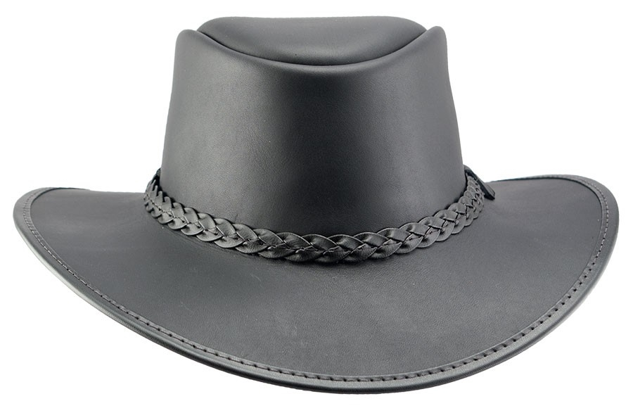 fdeda2083d4 BRAVO - Bravo leather hat - Made in California by Head  n Home Hats