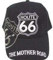hHW23379 - ROUTE 66 shadow MOTHER ROAD cap