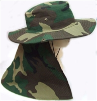 neck flap hat - hHW23480