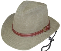 hHW23595 - Stone washed safari hat