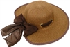 sHW23640 - ladies wide brim straw hat
