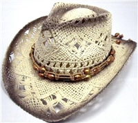 sKST-006 kids straw cowboy hat