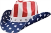 US flag cowboy hat - sST10-E