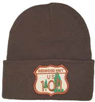 CALIFORNIA REDWOOD HWY knit beanie