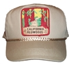 #121625/12460 - CALIFORNIA REDWOODS cotton khaki cap